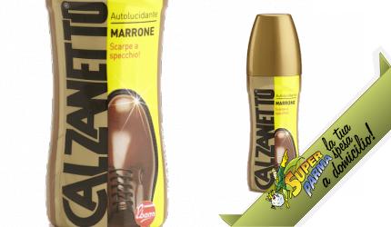 AUTOLUCIDANTE scarpe MARRONE 75 ml – Calzanetto