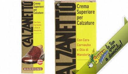 CREMA SUPERIORE scarpe MARRONE 50 ml – Calzanetto