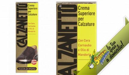 CREMA SUPERIORE scarpe TESTA DI MORO 50 ml – Calzanetto