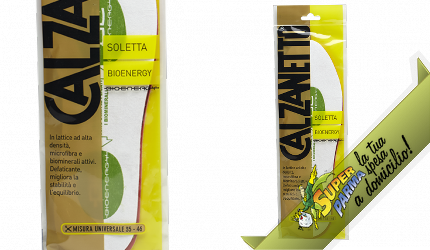 """SOLETTA """"BioEnergy"""" 1 paio – Calzanetto"""