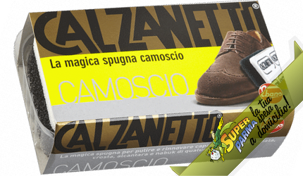 SPUGNA RAVVIVANTE Camoscio n°1 – Calzanetto