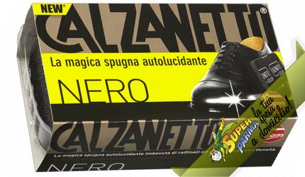 SPUGNA AUTOLUCIDANTE nero n°1 – Calzanetto