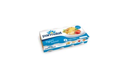 """YOGURT gusti assortiti frutta """"vellutati"""" 125 g x 8 - Parmalat"""