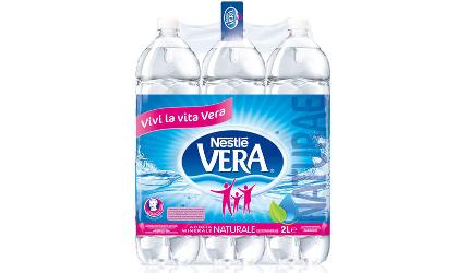 ACQUA NATURALE 2 L (6 bottiglie) - Vera