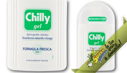 """DETERGENTE INTIMO liquido al """"Mentolo naturale"""" 200 ml - Chilly"""