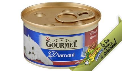 """ALIMENTO GATTI """"Gourmet Diamant"""" Manzo 85 g - Purina"""
