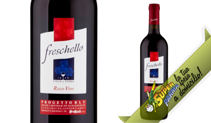 """VINO ROSSO """"Freschello"""" 750 ml - Cielo e Terra"""