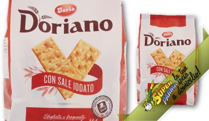 CRACKERS con Sale Iodato 700 g - Doriano