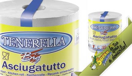 BOBINA ASCIUGATUTTO 500 strappi (1 rotolo) – Tenerella