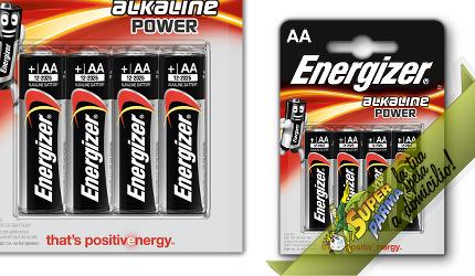 """PILE STILO """"AA"""" (4 pezzi) – Energizer"""