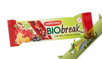 "BARRETTA SNACK ""BioBreak"" (Goji e Physalis) 35 g – Noberasco"