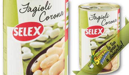 FAGIOLI CORONA 400 g – Selex