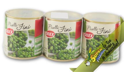 PISELLI FINI 3 x 200 g – Selex