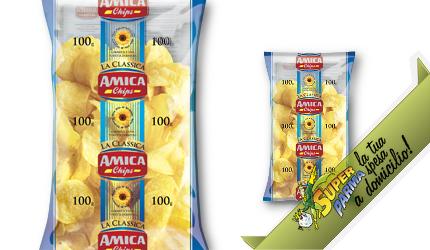 PATATINE CLASSICHE 100 g - Amica Chips