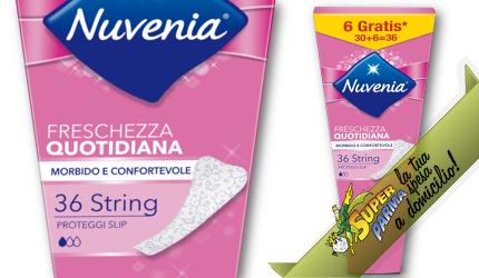 "PROTEGGI SLIP ""perizoma strings"" 30+6 pz. – Nuvenia"