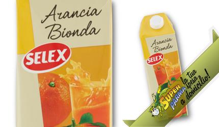 """SUCCO DI FRUTTA """"Arancia Bionda"""" 1,5 L – Selex"""
