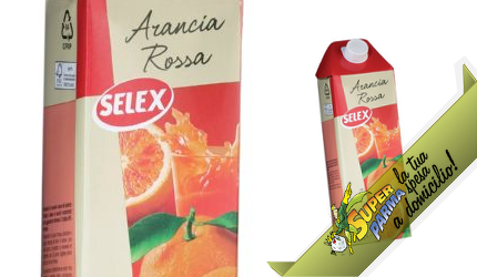 """SUCCO DI FRUTTA """"Arancia Rossa"""" 1,5 L – Selex"""