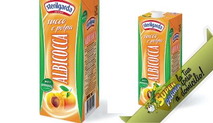 """SUCCO DI FRUTTA """"Albicocca"""" 1000 ml – Sterilgarda"""