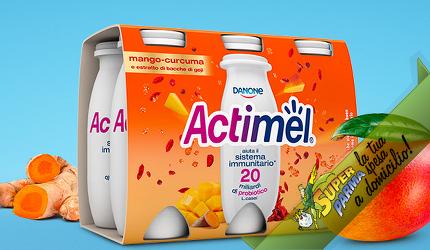 "ACTIMEL ""Mango"" 6 x 100 g – Danone"