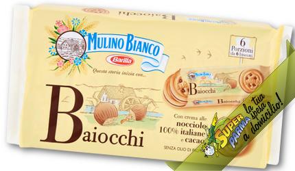 BAIOCCHI sacchetto da 336 g – Mulino Bianco