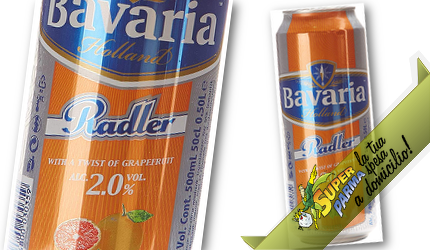 """BIRRA RADLER """"Pompelmo"""" 50 cl – Bavaria"""