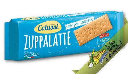 """BISCOTTI """"ZUPPALATTE"""" 250 g – Colussi"""