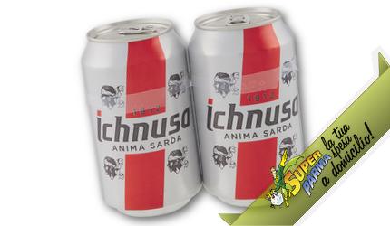 BIRRA in lattina 33 cl x 2 – Ichnusa