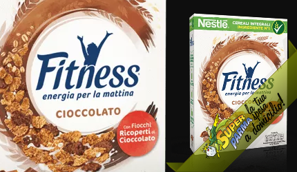 """CEREALI """"Fitness"""" al CIOCCOLATO 375 g – Nestle"""