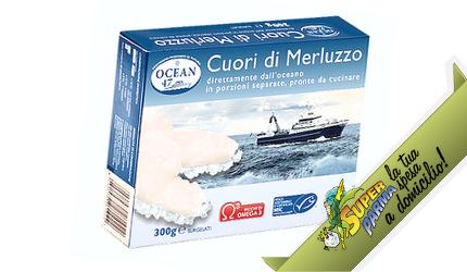 """CUORI di """"Merluzzo"""" SURGELATO 300 g – Ocean"""