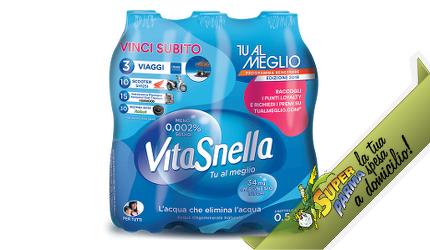 ACQUA NATURALE 6 x 500 ml – Vitasnella