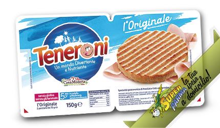 """TENERONI """"Prosciutto Cotto"""" 2 x 75 g – Casa Modena"""
