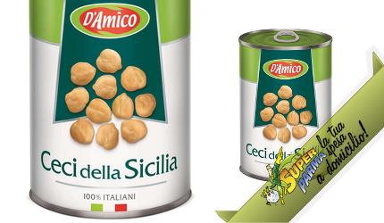 CECI della Sicilia 400 g – D'Amico