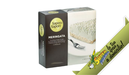 """DESSERT """"Meringata"""" monoporzione 2×55 g – Saper di Sapori"""