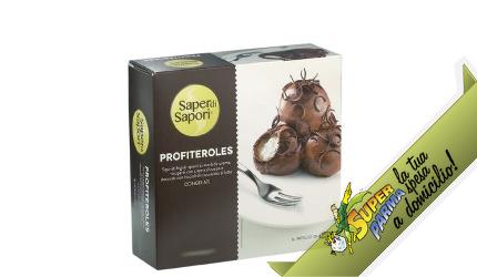 """DESSERT """"Profiteroles"""" monoporzione 2×55 g – Saper di Sapori"""