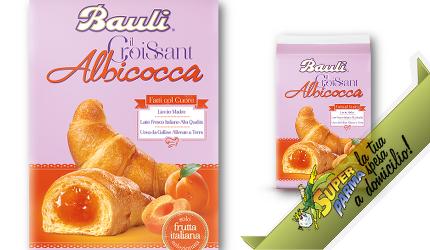 "CROISSANT ""Albicocca"" 50 g x 10 – Bauli"