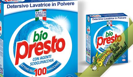 DETERSIVO LAVATRICE in polvere 50 misurini 2750 g – Biopresto