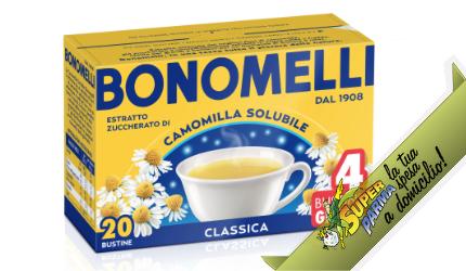"""CAMOMILLA SOLUBILE """"classica"""" 16 buste – Bonomelli"""