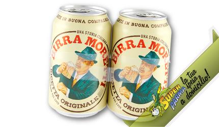 "BIRRA ""Ricetta Classica"" lattina da 2 x 33 cl – Moretti"