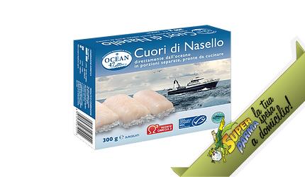 """CUORI di """"Nasello"""" SURGELATO 300 g – Ocean 47"""