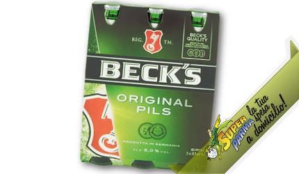 BIRRA bott. vetro 3 x 33 cl – Beck's