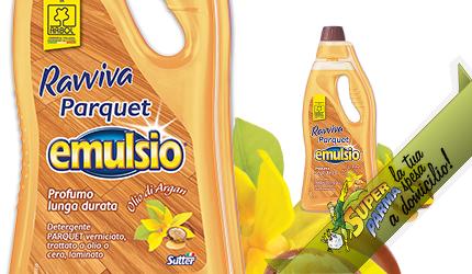 """DETERGENTE """"Ravviva Parquet"""" 750 ml – Emulsio"""