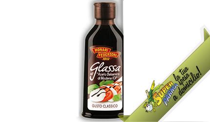 """GLASSA di ACETO balsamico """"Classica"""" 300 ml – Monari Federzoni"""