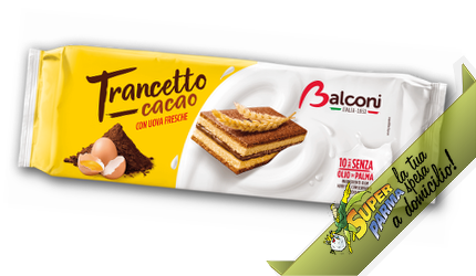 """MERENDA """"Trancetto al Cacao"""" 280 g – Balconi"""