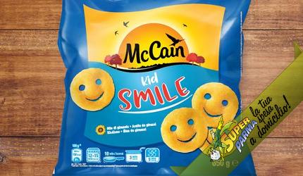 "PATATE ""Kid Smile"" 600 g SURGELATO – McCain"