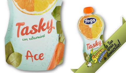 """SUCCO DI FRUTTA """"Tasky"""" gusto ACE 200 ml – Yoga"""