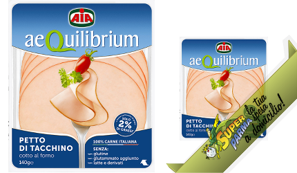 "PETTO di TACCHINO ""Aequilibrium"" 140 g – Aia"