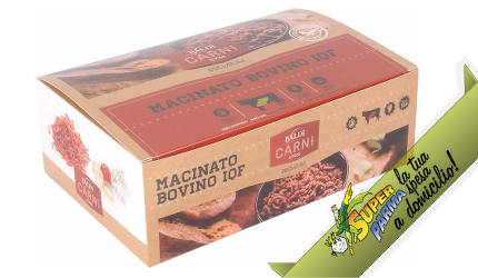 """MACINATO di """"Bovino"""" iqf 1700 g SURGELATO – Baldi"""