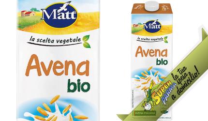 "(LATTE) BEVANDA di ""Avena"" BIO 1000 ml – Matt"