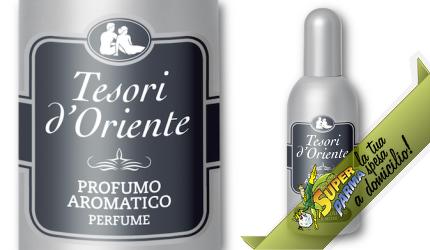 "PROFUMO AROMATICO ""Muschio Bianco"" 100 ml – Tesori D'Oriente"