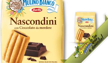 """BISCOTTI """"Nascondini"""" 350 g – Mulino Bianco"""